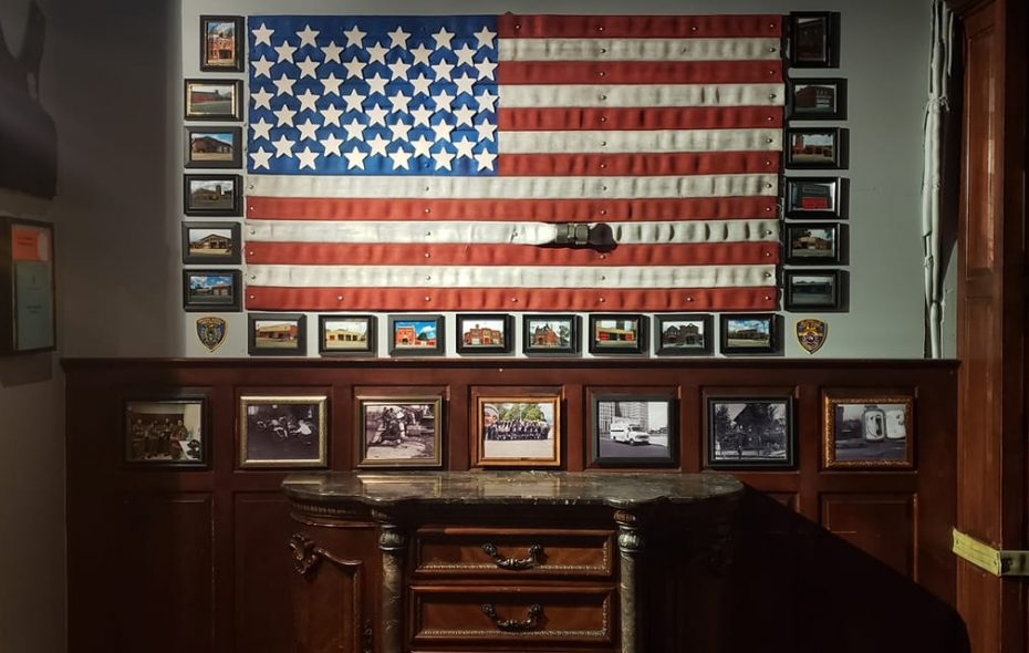 The decor in Buffalo Station House represents essential services in Buffalo and beyond. Much of it was donated. (Photo credit: Buffalo Station House)
