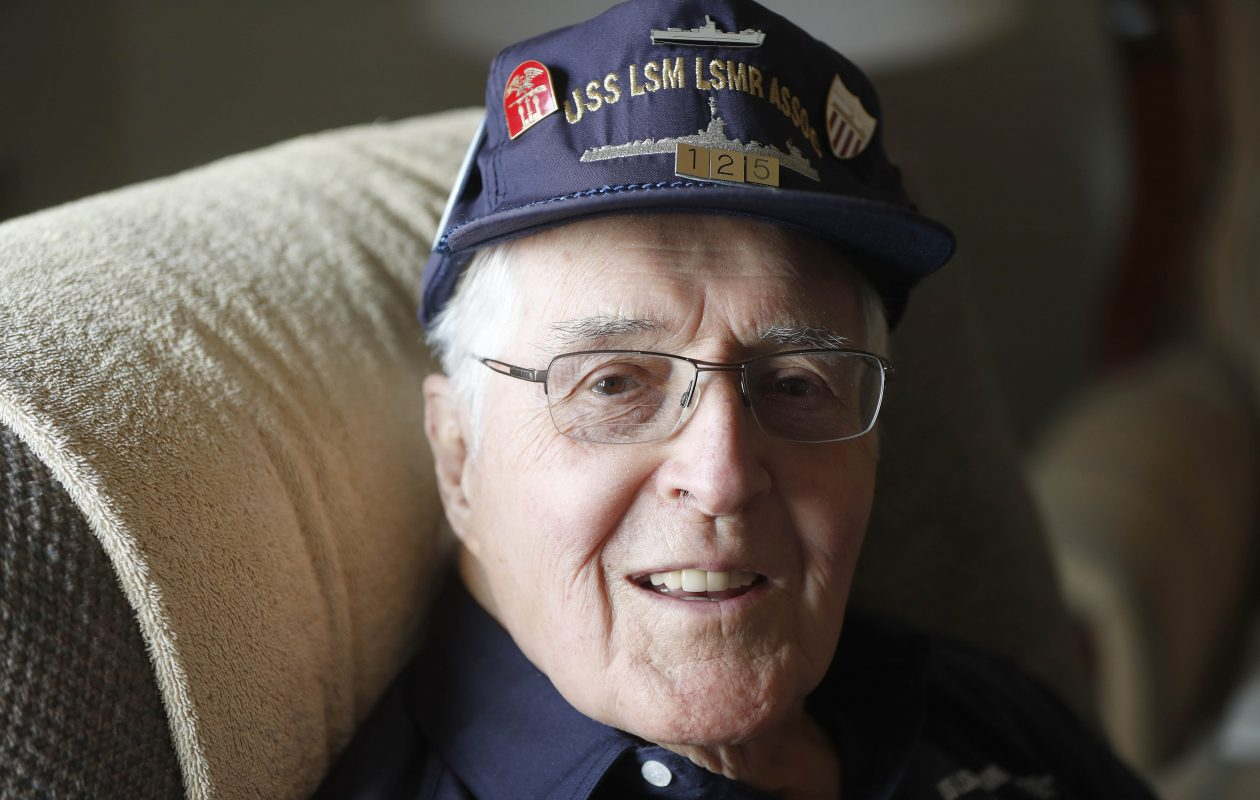 WWII vet from Tonawanda glad he served on a ship