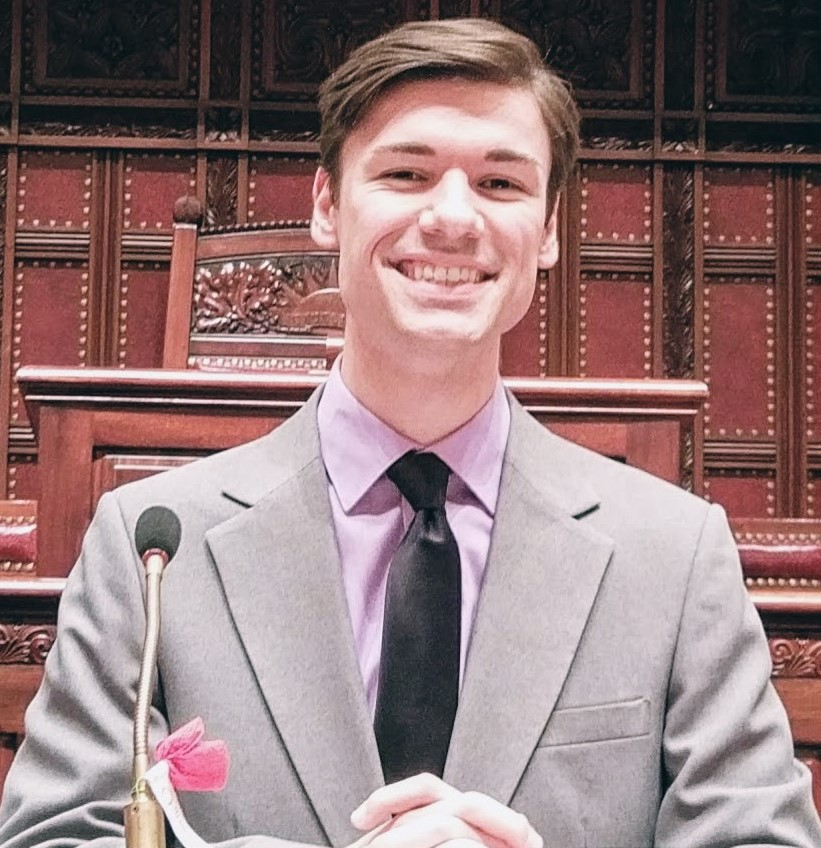 Austin T. Morgan was a session assistant and legislative analyst for State Sen. Leroy Comrie, D-Queens, last year.