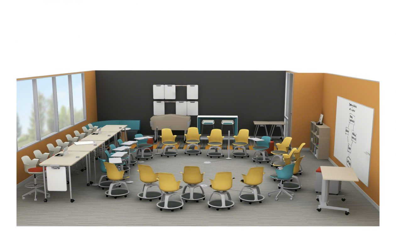 D'Youville College and Leonardo da Vinci High School received a grant to transform space on campus into this 'living laboratory.'