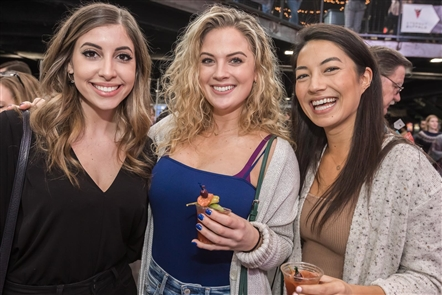 Smiles at Bloody Mary Fest 2019 in RiverWorks