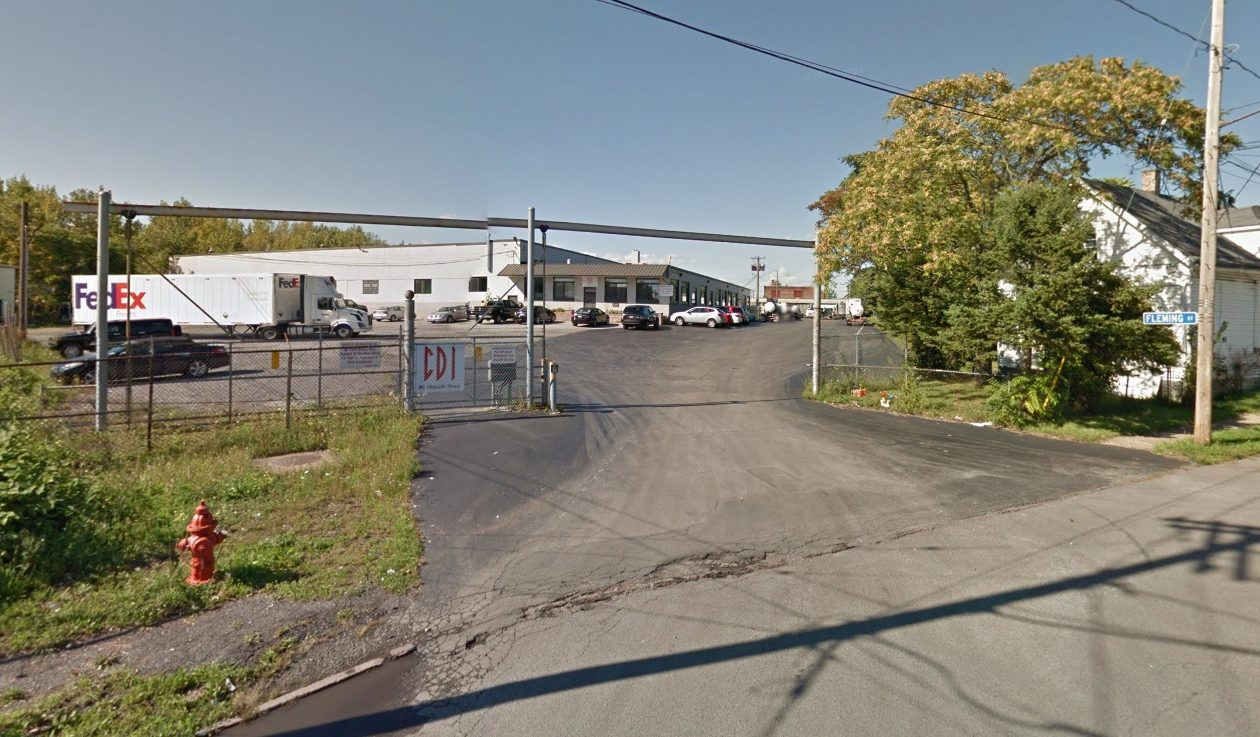 Chemical Distributors Inc. wants to build a 12,000-square-foot chemical storage facility on its Metcalfe Street property. (Google)