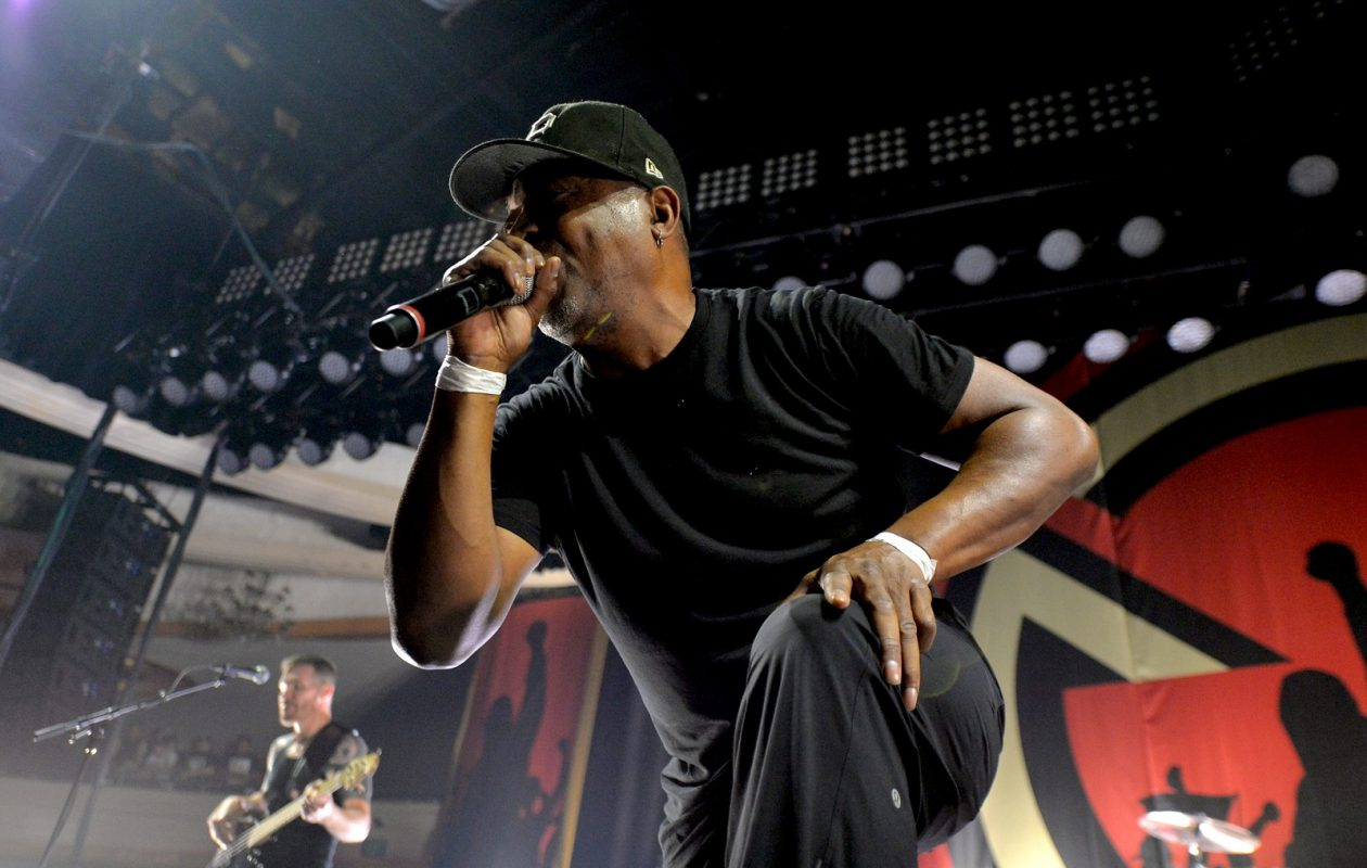 Chuck D of Public Enemy/Prophets of Rage narrates the new 8-part 'Stay Free: The Story of the Clash' podcast.  (Photo by Getty Images)