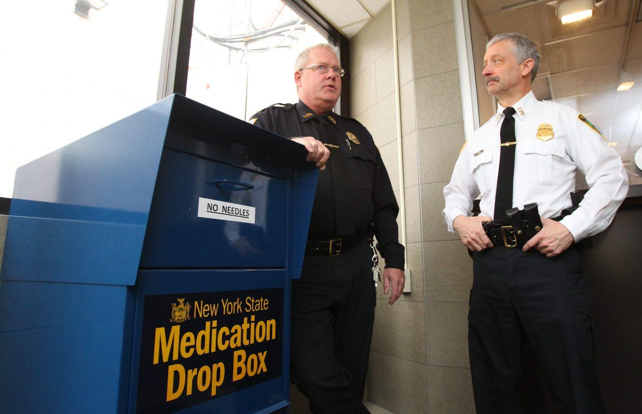 Drug drop boxes in question after Tonawanda paramedic arrests
