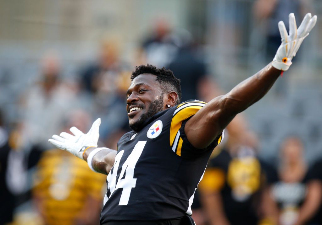 Antonio Brown is one of the league's best receivers. (Getty Images)