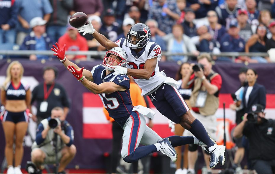 Bills cornerback Kevin Johnson spent his first four seasons with the Texans. (Getty Images)