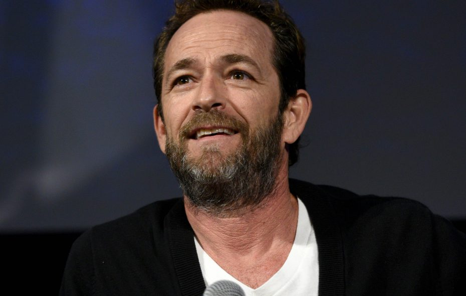Luke Perry has died at 52 after suffering a massive stroke. (Getty Images file photo)