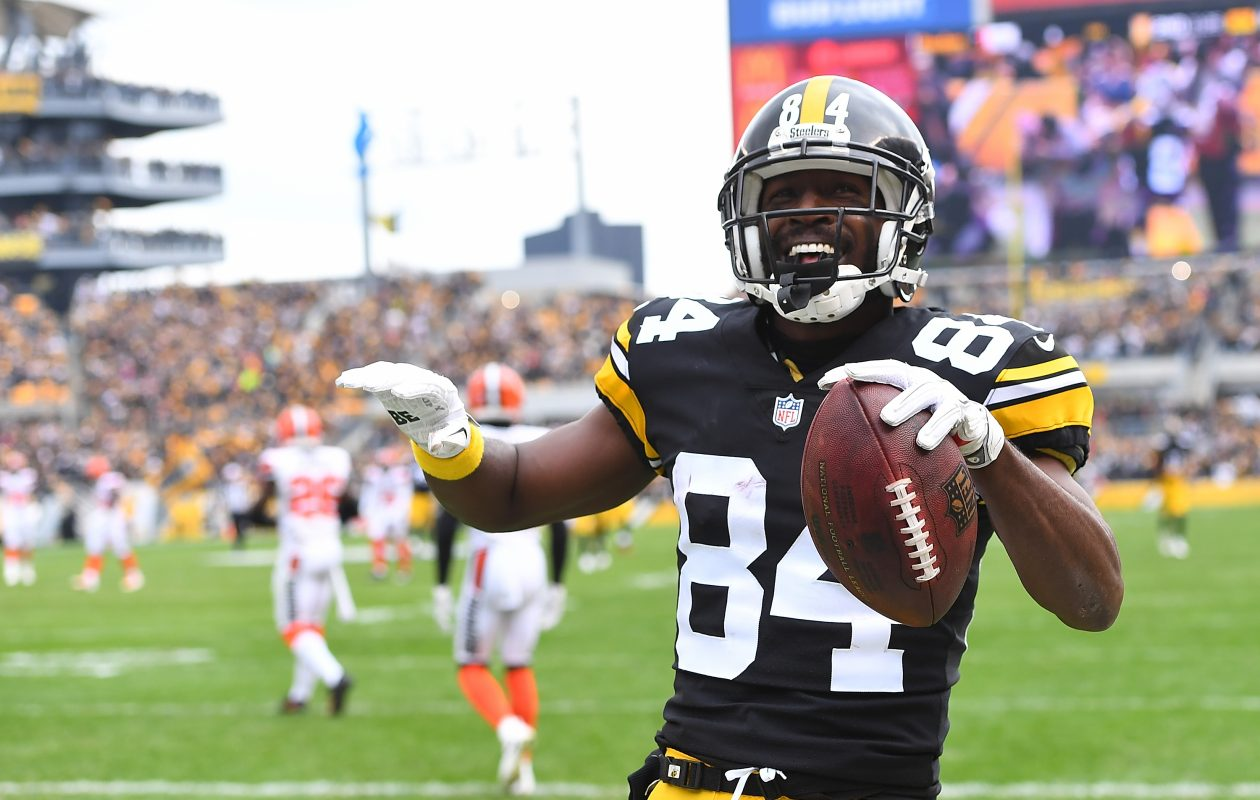 A trade for Steelers receiver Antonio Brown won't happen with the Buffalo Bills. (Getty Images file photo)