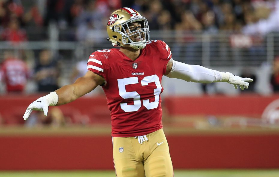 Mark Nzeocha has visited the Bills, according to a report. (Daniel Shirey/Getty Images)