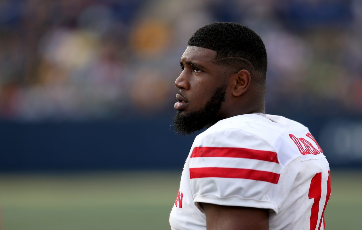 Houston defensive tackle Ed Oliver. (Getty Images)