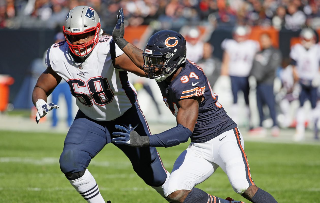 LaAdrian Waddle of the New England Patriots has signed with the Bills (Jonathan Daniel/Getty Images)
