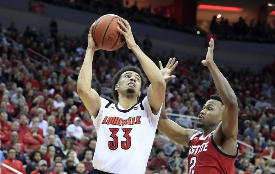 Park School product Jordan Nwora was the leading scorer and rebounder for Louisville. (Getty Images)