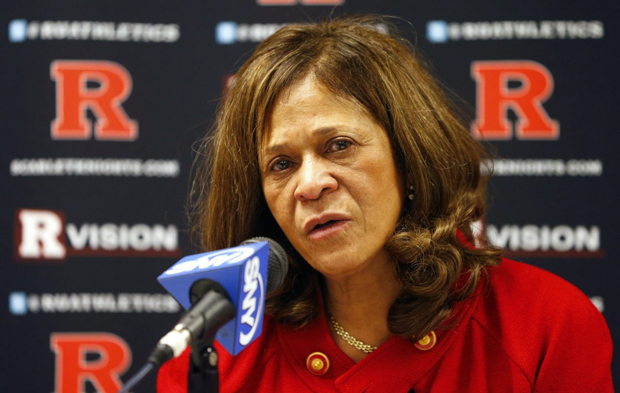 Rutgers coach C. Vivian Stringer is on a health-related leave of absence. (Getty Images)