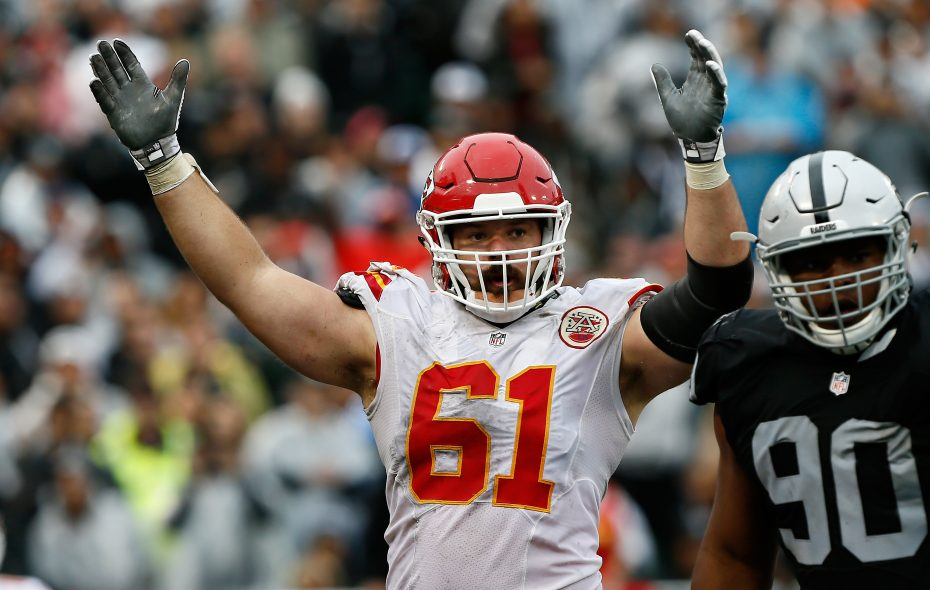Former Chiefs center Mitch Morse is reportedly joining the Bills. (Getty Images)