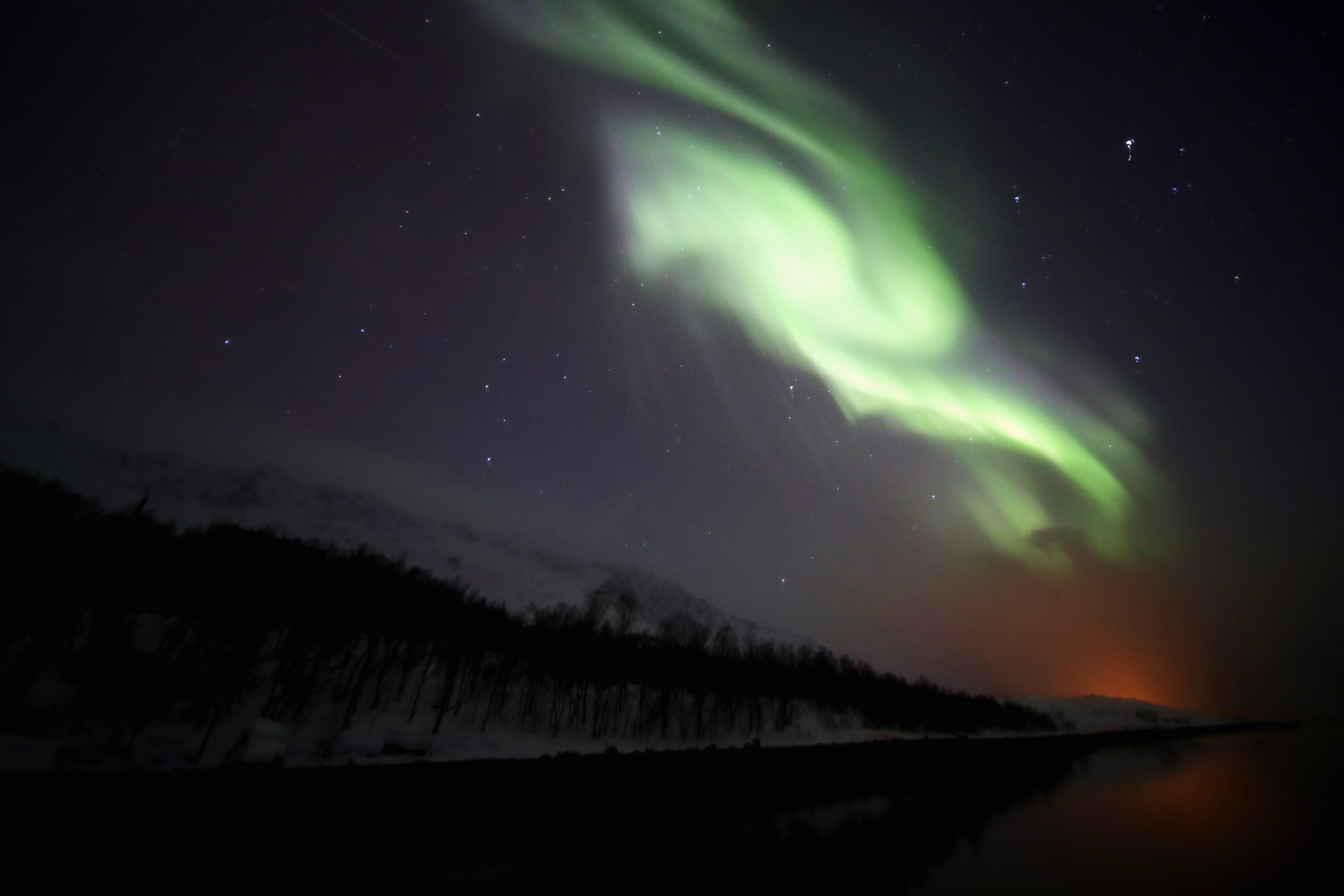 You might be able to see the Northern Lights tonight