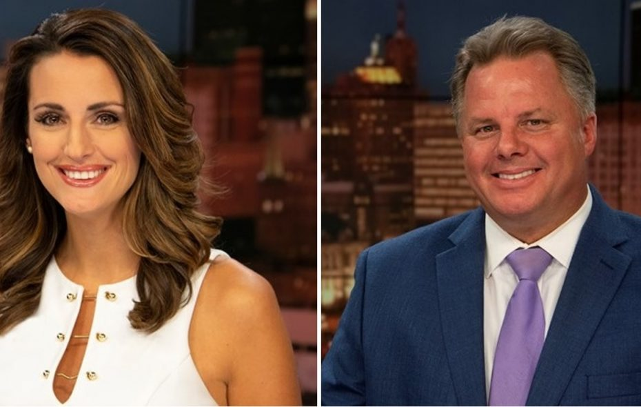 Melissa Holmes, left and Patrick Hammer have agreed to new contracts with WGRZ. (via WGRZ)