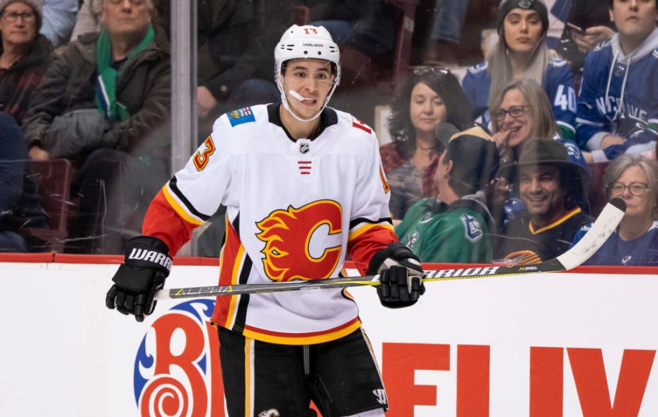 Calgary's Johnny Gaudreau has been red-hot all season (Getty Images).