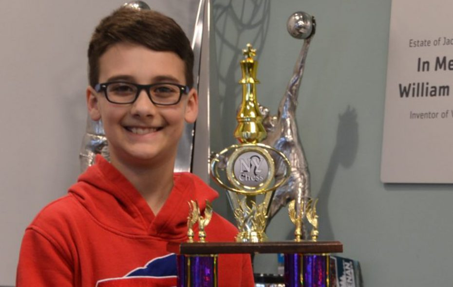 Lockport fifth-grader undefeated in state chess championship