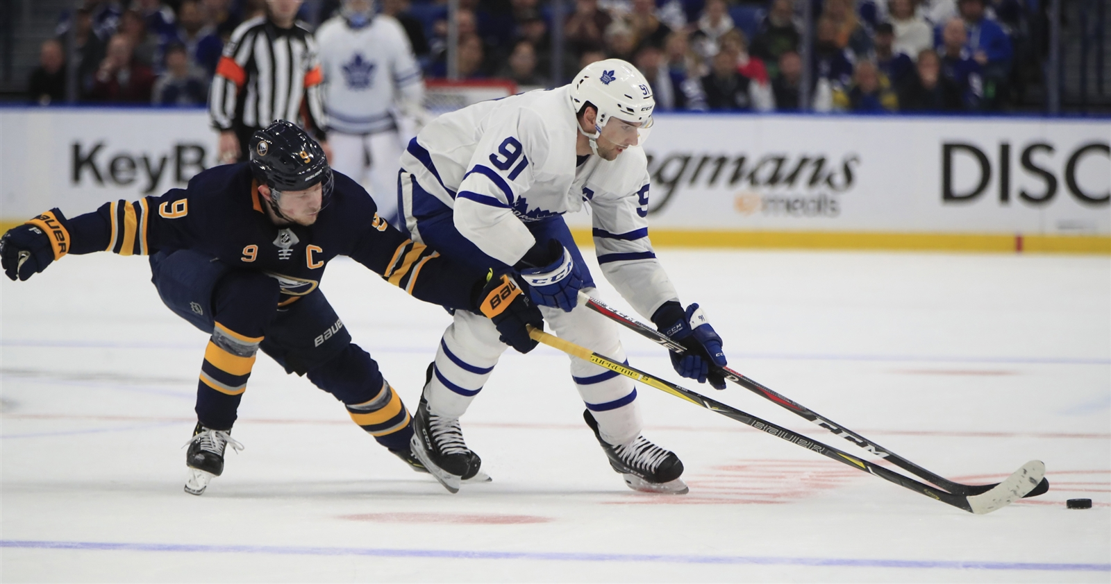 Sabres looking to wipe out a pair of ugly streaks as Leafs come to town