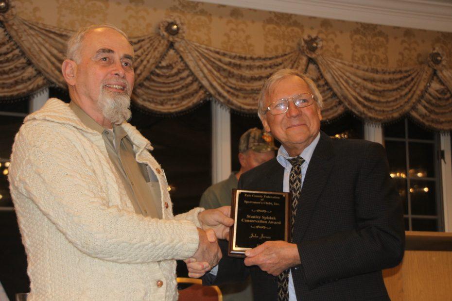 Erie County Federation Sportsmens Club-John Jarosz-Frank Miskey Sr-Stan Spisiak-Niagara Musky Association
