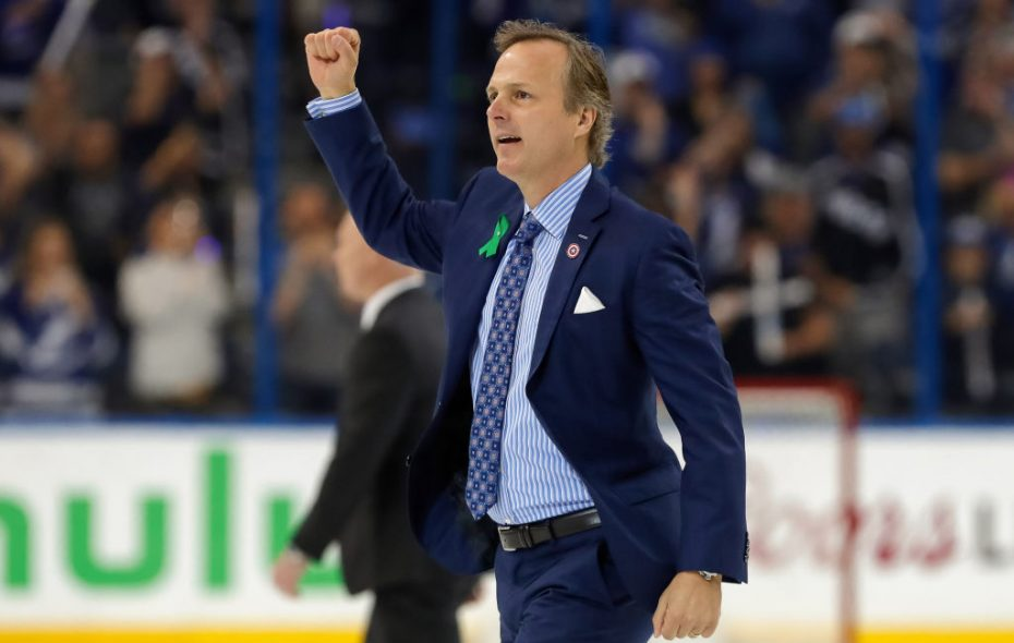 Jon Cooper's 300th win got the Lightning to 120 points (Getty Images).