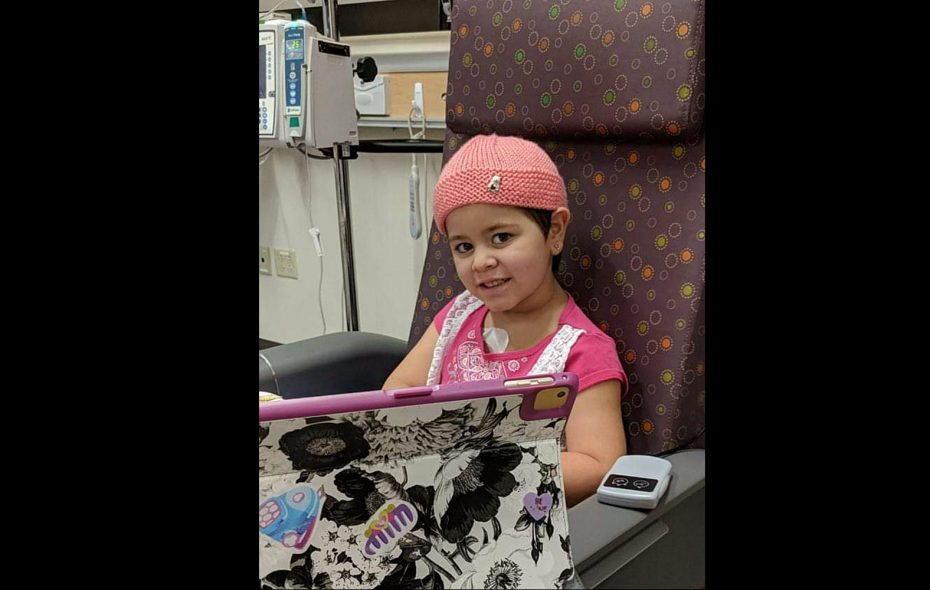 Francesca Morabito, in treatment for leukemia at Roswell Park Comprehensive Cancer Center. (Family photo)