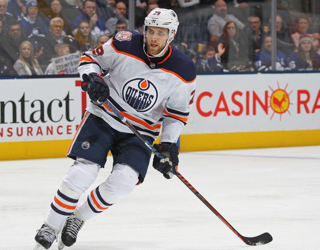 Leon Draisaitl has 40 goals this season for Edmonton. (Getty Images)
