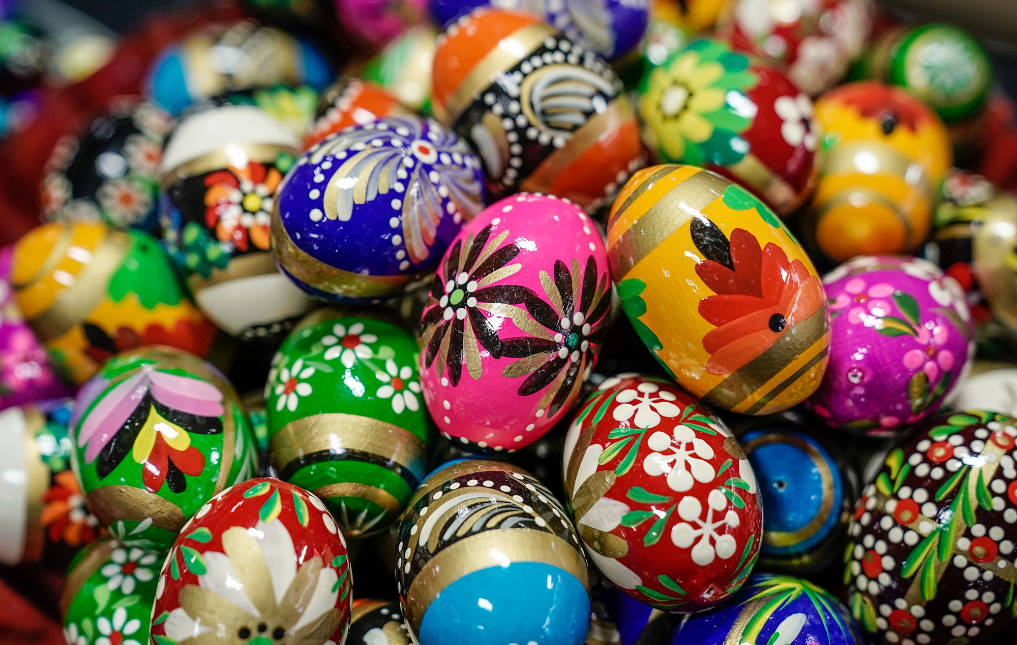 The colorful meaning of wooden Polish eggs | Buffalo Magazine