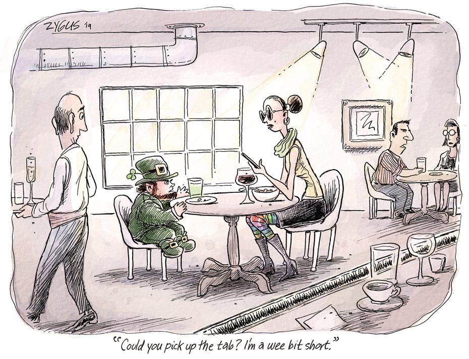 Adam Zyglis Cartoon Caption Contest: March 2019 winners