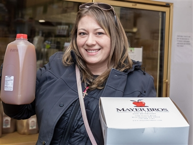 For the first time in decades, Mayer Bros. Cider Mill opened for the spring, on Wednesday, March 20, 2019 on Seneca Creek Road in West Seneca. See who enjoyed the hot doughnuts and cider on the first day of spring.