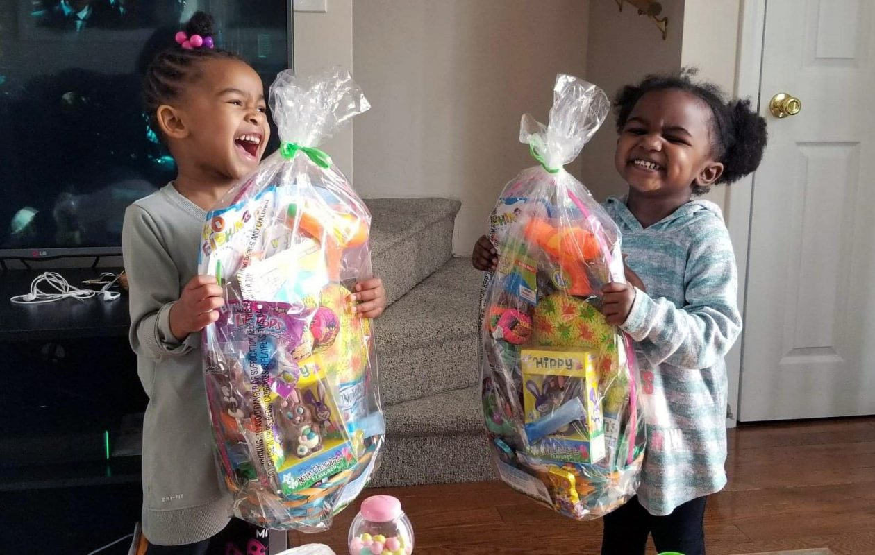 c2a0213b Mercedes Wilson's 4-year-old twins look forward to their Easter baskets,  while