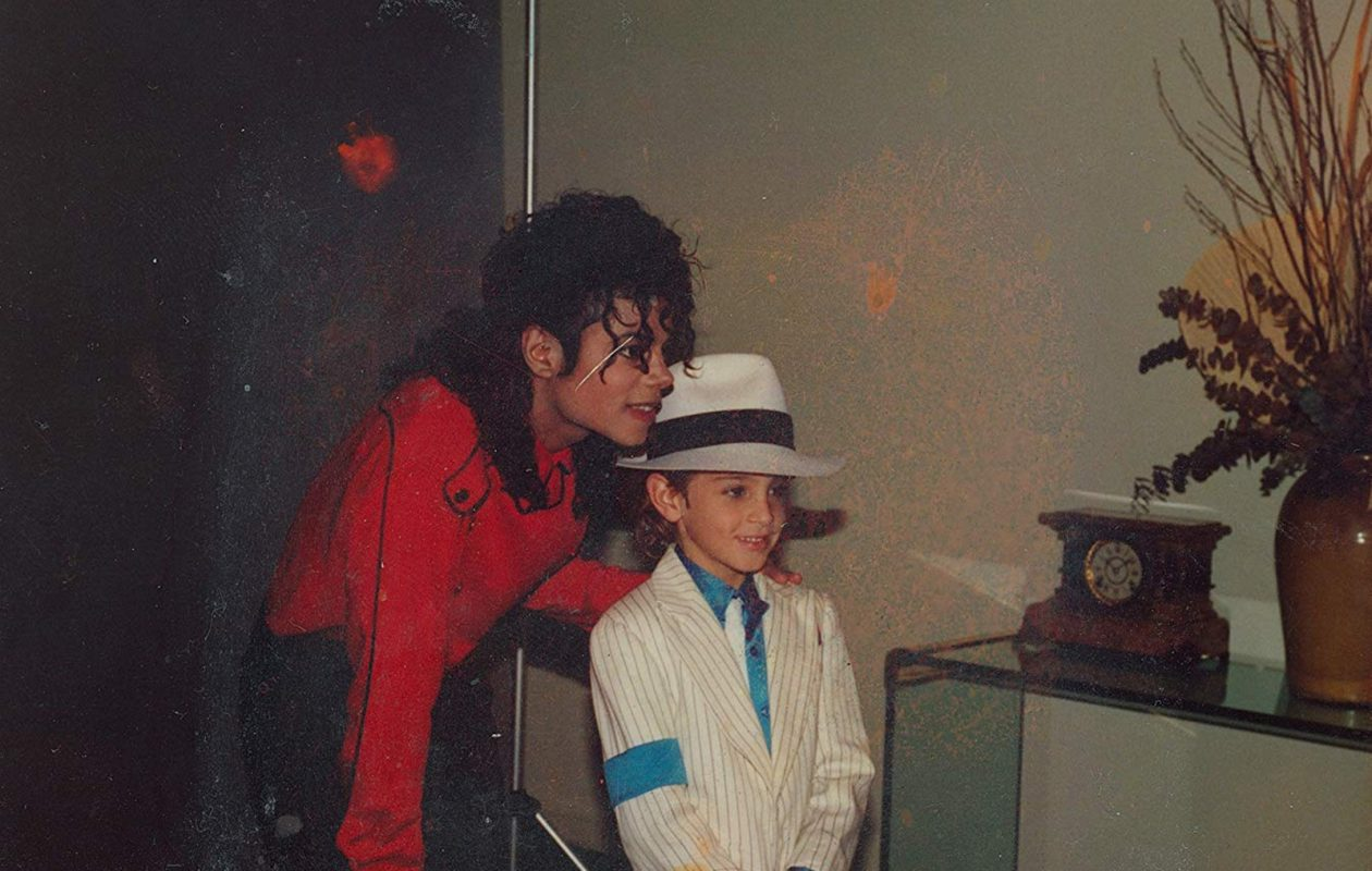 Michael Jackson and Wade Robson in 'Leaving Neverland.' (Amos Pictures/IMDb/TNS)
