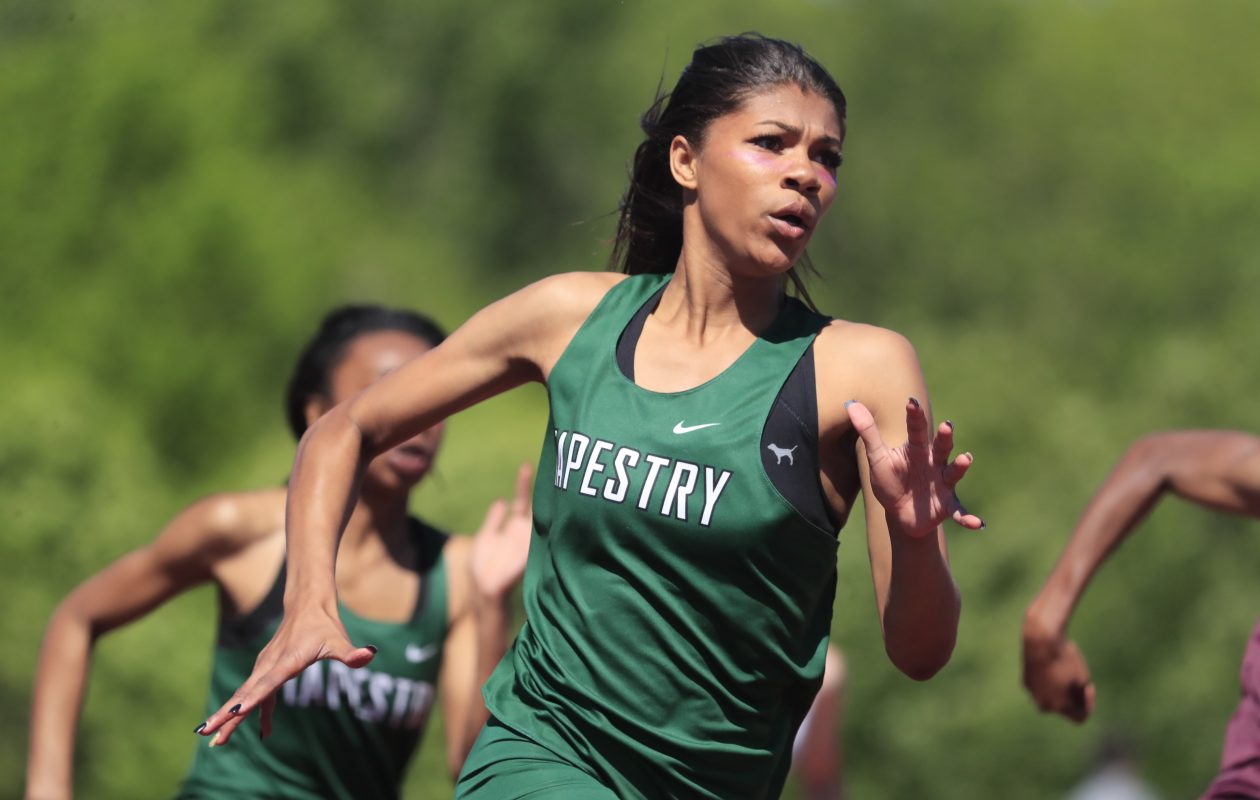 Nia Stevens from Tapestry has committed to Campbell. (Harry Scull Jr./Buffalo News file photo)