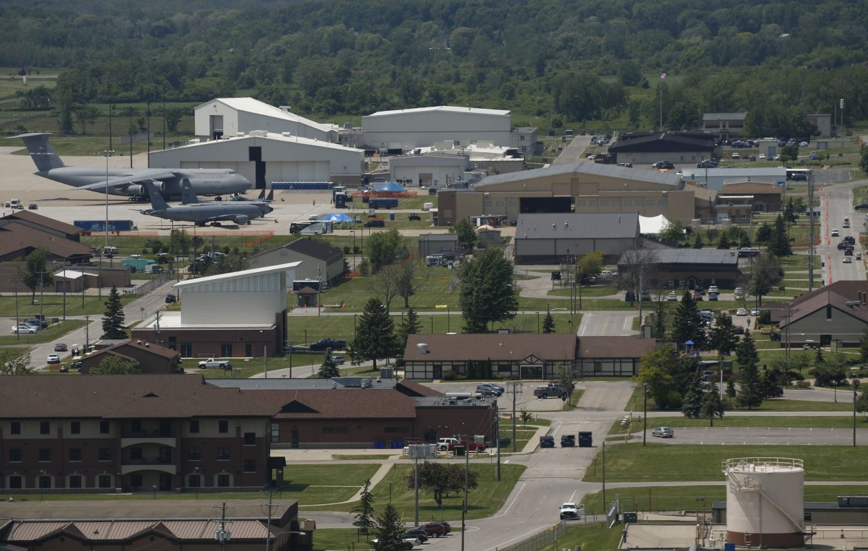 The Niagara Falls Air Reserve Station. (Derek Gee/Buffalo News file photo)