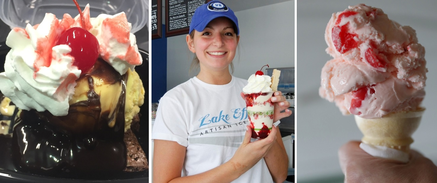 Ice cream season has officially begun, with at least four stands opening on March 1. (News file photos)