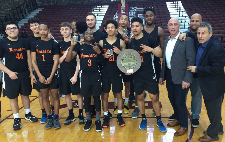 Park School is headed to its second consecutive NYSPHSAA Class A championship with a 48-47 victory over Monsignor Farrell on Saturday in Rose Hill Gym at Fordham University in New York City. (Contributed photo)