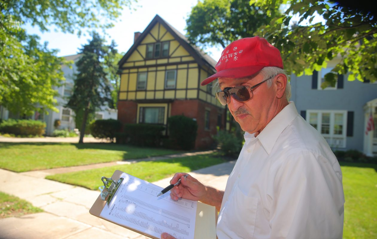 Longtime Democratic activist and county executive candidate Peter Reese is suing over a state law that hiked the number of signatures required to get on the ballot. (John Hickey/News file photo)