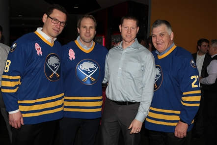 Attendees of this 15th annual event sampled some of the finest wines and food the area has to offer while rubbing shoulders with Sabres legends and bidding on auction items from players and alumni.