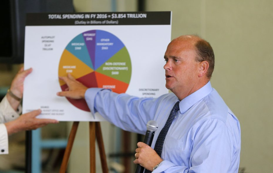 Rep. Tom Reed says the bipartisan Problem Solvers Caucus he co-chairs is forcing House members to engage in new ways to find solutions. (Mark Mulville/News file photo)