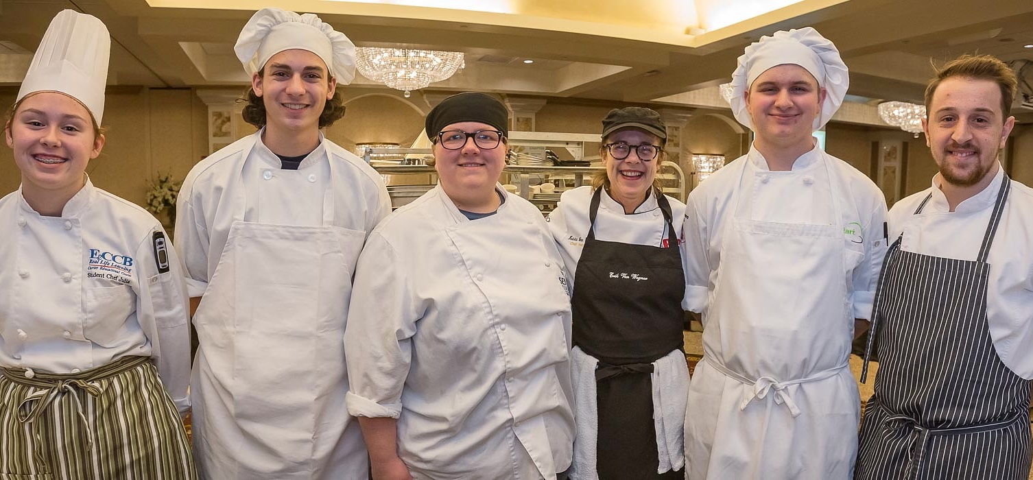 Local chefs and culinary students pose for a picture at the 2017 Taste of Education. (Don Nieman/Special to The News)