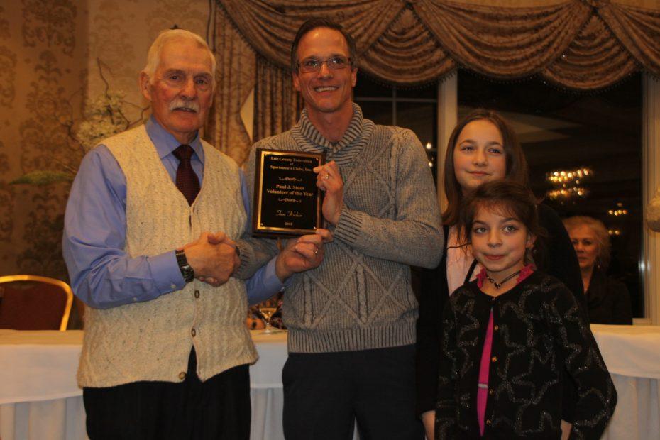 Erie County Federation Sportsmens Club-tom fischer-stoos award-frank miskey-2019