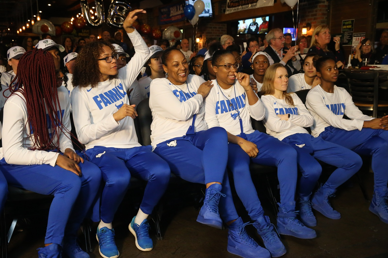 TV trips all over UB womens trip to NCAA Tournament