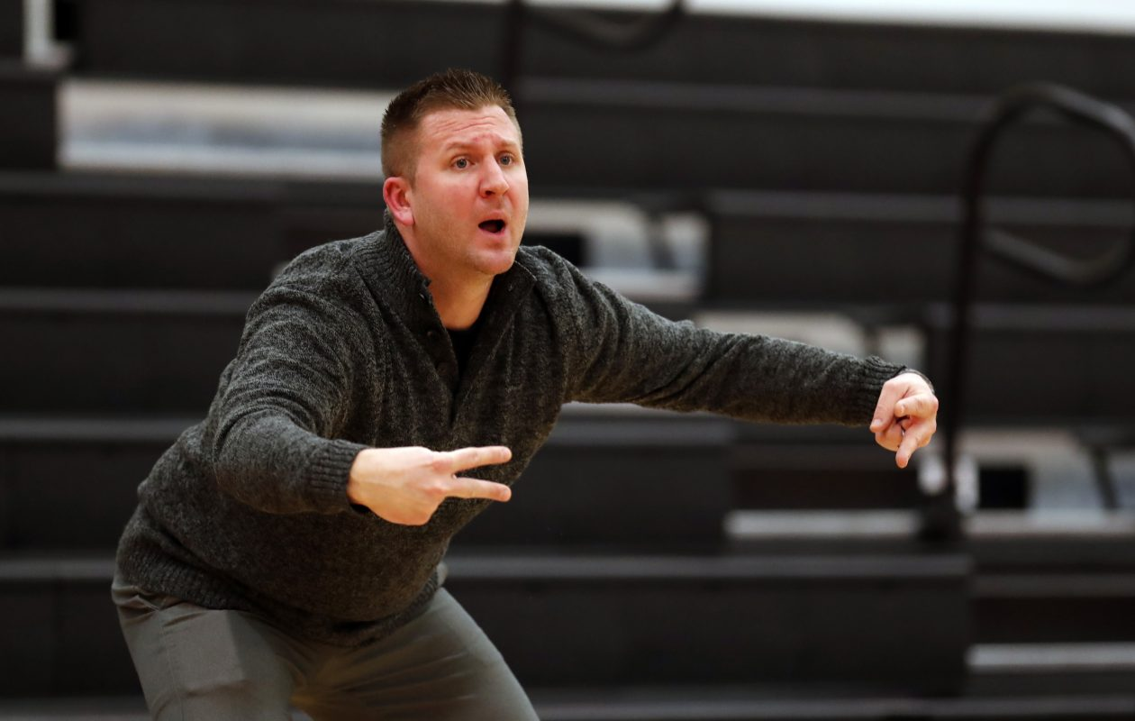 """""""We did a great job defensively, as did they,"""" said Frontier coach Rick Mihalik said. (Harry Scull Jr./Buffalo News file photo)"""