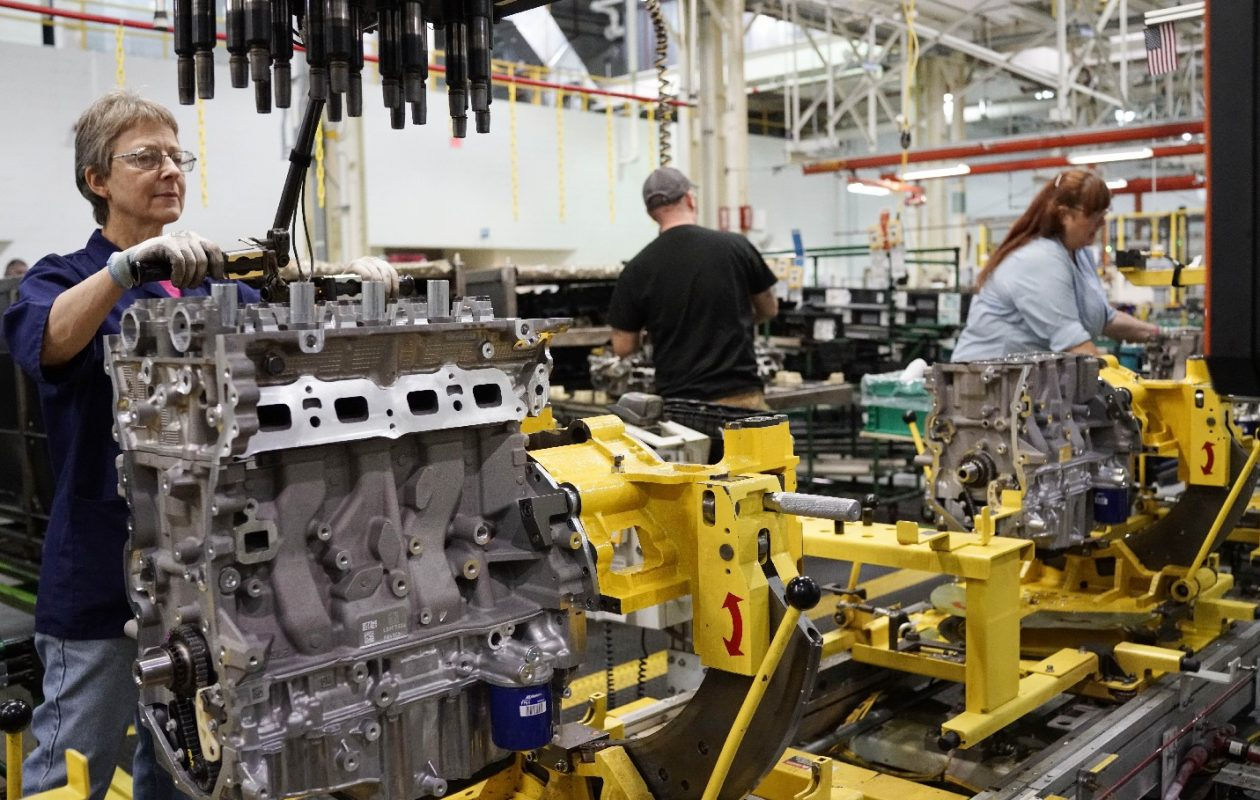 A study sees a shift in local jobs away from traditional unionized manufacturing jobs. (News file photo)