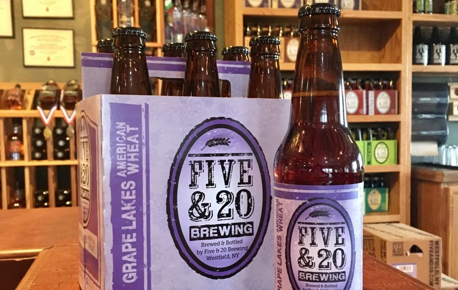 Grape Lakes is the flagship beer at Five & 20. (Photo courtesy Five & 20)