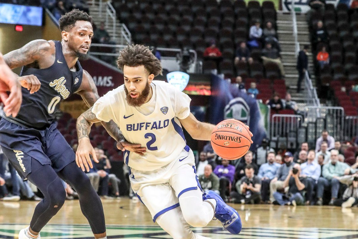 4cd9a56ed8b UB men s basketball puts defense first in MAC Tournament win against Akron