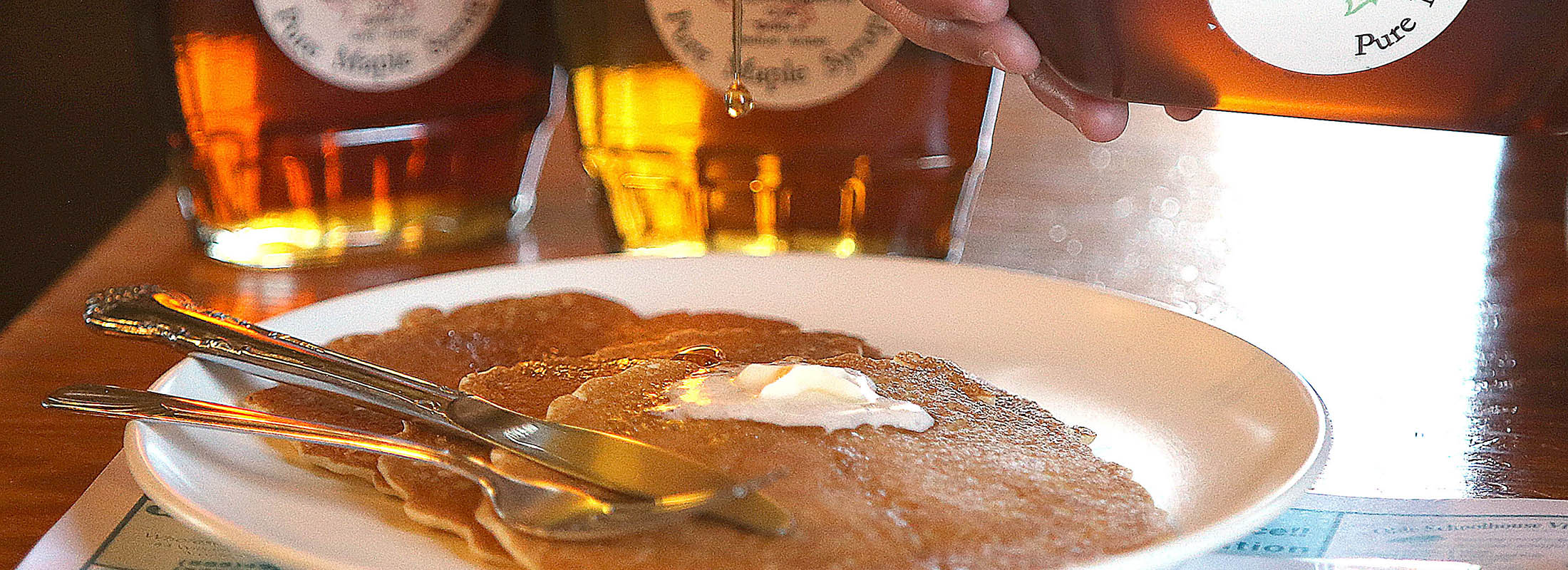 """Andrew Galarneau writes, """"Visitors to a sugarhouse come away feeling faintly sticky from the sweet maple steam and ready for some pancakes."""" (Robert Kirkham/News file photo)"""