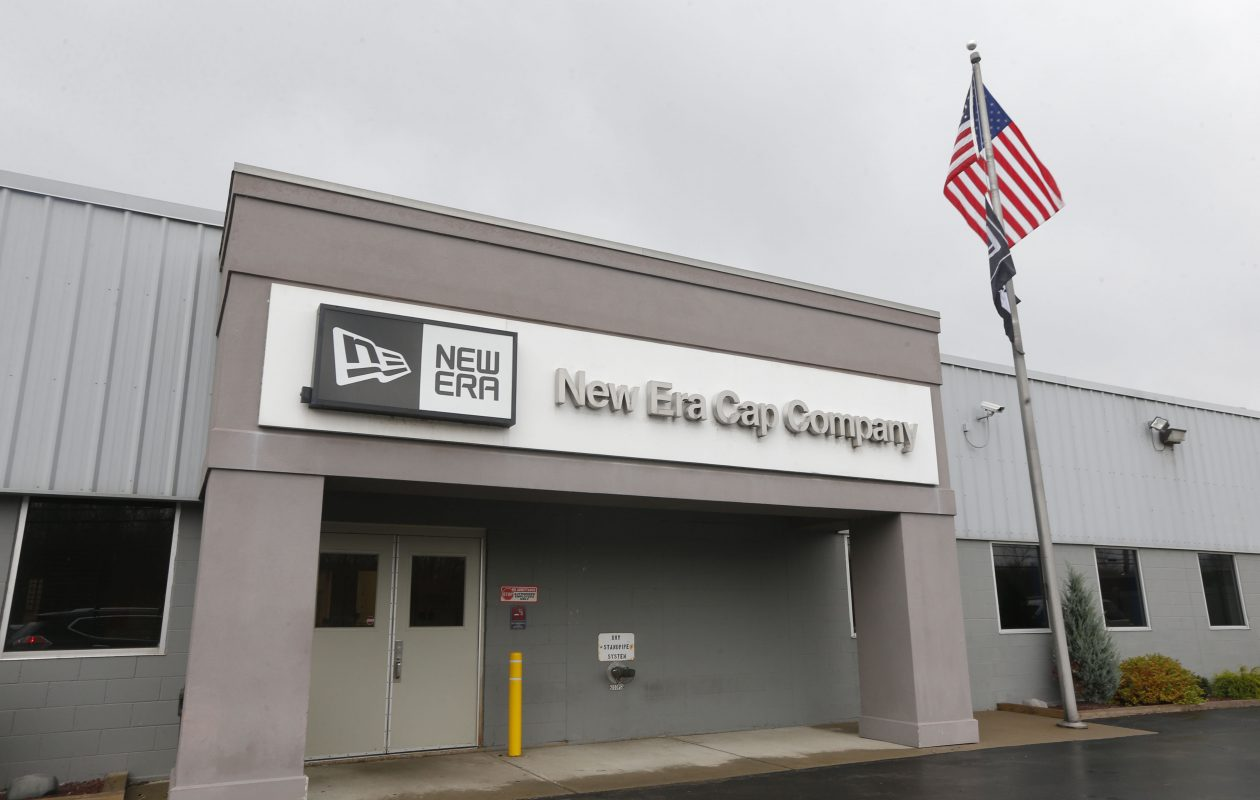 The closing date for New Era's Derby plant is now set for June 7. (Robert Kirkham/Buffalo News)