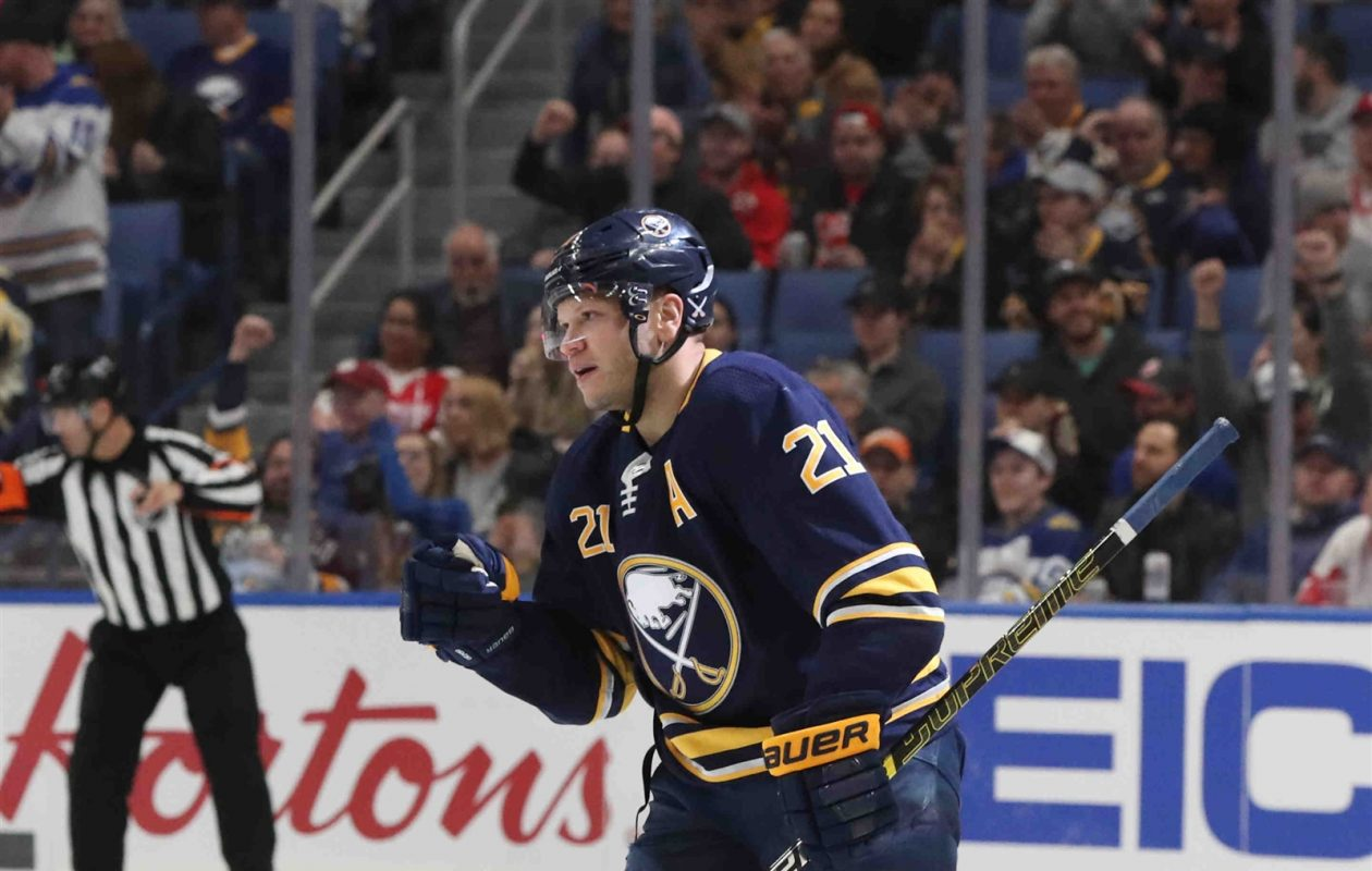 Sabres right winger Kyle Okposo had only 14 goals among 29 points while counting $6 million against the salary cap. (James P. McCoy/News file photo)