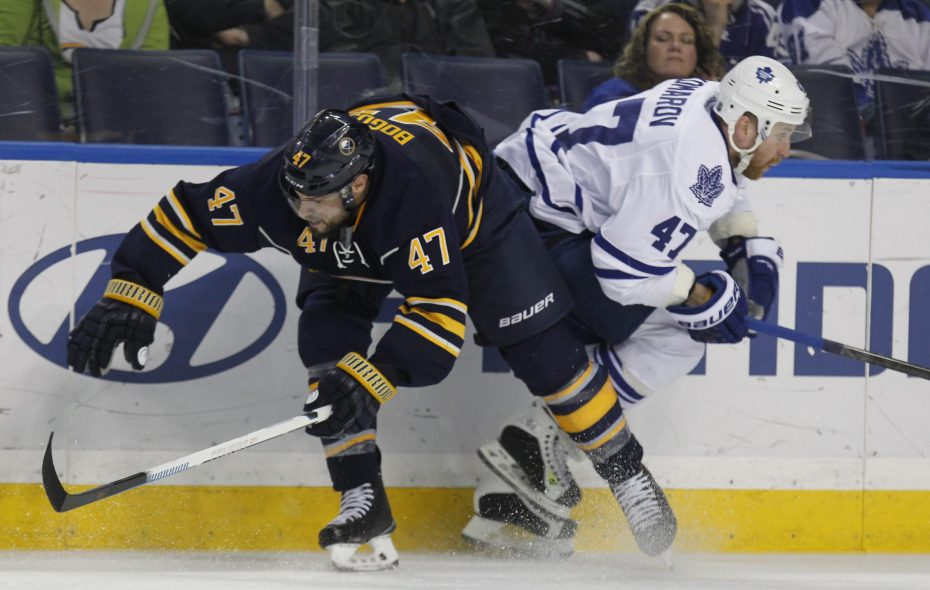 The Carubba Collision has become a staple of Sabres games. (News file photo)